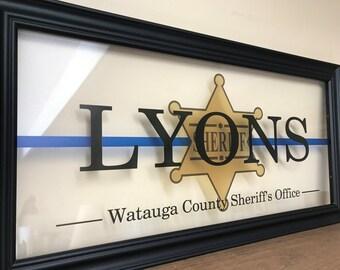 Deputy Sheriff, Deputy Gifts, Deputy Wife, Deputy Sheriff Gifts, Sheriff Gifts, Sheriff Girlfriend, Deputy Sheriff Wife, K9 Police, 10X20
