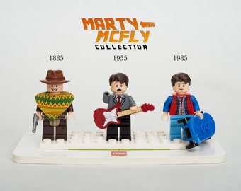 NEW Lego MOC Back to the Future Marty McFly Collection