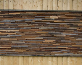 Rustic Wall Art Handmade Of Reclaimed Barn Wood  Decor Mark 15 Wooden Hanging