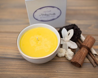 Monkey Farts - 6 oz Stoneware Natural Soy Candle