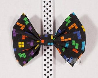 Tetris Hair Bow - Ready to Ship!