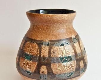 Lapid Israel - Modernist Wax Resist Vase