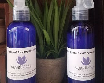 Antibacterial All Purpose Cleaner - Chemical Free,  Non Toxic and Eco Friendly