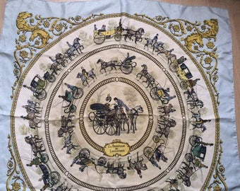 Hermes scarf, shawl  silk