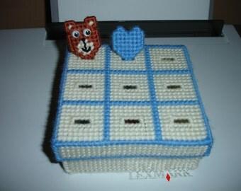 plastic canvas tic tac toe game