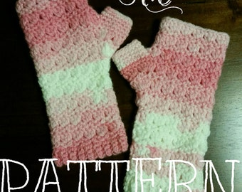 Properly Primrose Fingerless Gloves - instant PDF download - can be ordered and bought as finished piece