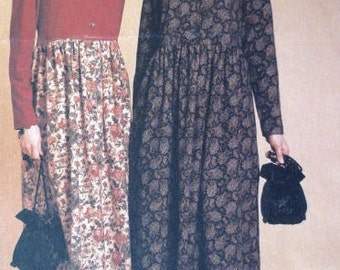 Vintage Hippie/Bohemian Style Maxi Dress Pattern - McCalls 8910 - Sizes 16-18-20-22 - Woman's Dress Sewing Pattern