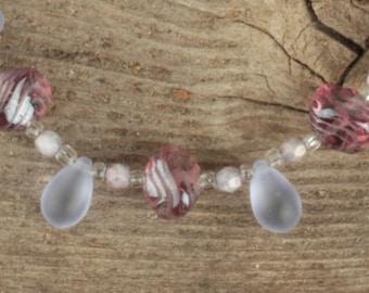 Lovely Lavendar and Purple Bracelet