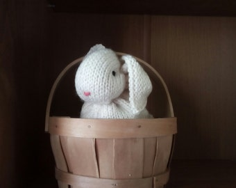 Knitted Small Rabbit, Knitted Rabbit Toy, Knitted Small Toys, Toy Bunny, Children Rabbit Toy, Hand Knit Bunny Rabbit, Stuffed Toy, Kids gift