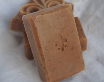 Solid shampoo bar, Peppermint Hairsoap for fine, oily hair