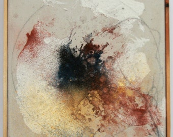 Cosmic spirit / Original painting / abstract painting / mixed media / Universe / Abstract