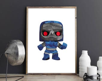 Darkseid Pop Print