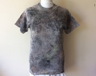 Men's Post Apocalyptic Painted Nuclear Slime Wasteland Wastelander Cotton T-Shirt Apocalyptic Cosplay Costume Wastelander Cosplay