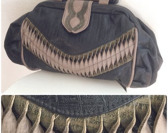 Funky Leather Purse