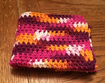 Crocheted Dishcloths Washcloths-- Baslik
