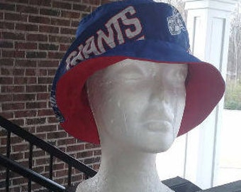 Custom Bucket Hat/Team Fabric Bucket Hat With A Twist/ANY TEAM