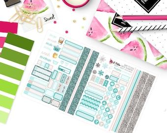 Pocket size - BABY IT'S COLD Planner Sticker Kit | Travelers Notebook Field Note Size |  TN016