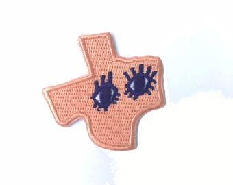 Eyes of Texas Patch - TX