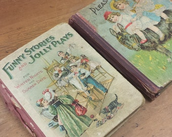 Funny Stories and Jolly Plays For Winter Nights and Summer Days ~ Pleasant Hours for Boys and Girls
