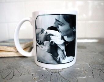 Custom Photo Mug - I Turtley LOVE You - Ceramic Mug - Dishwasher Safe - Turtle Mug - Coffee Mug - Tea Mug