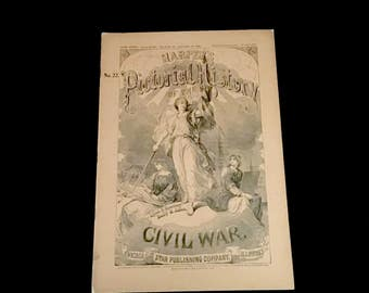 1894 Harpers Pictorial History of the Civil War: Vol. 22      GC260