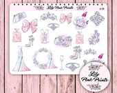 21 A Day To Remember Decorative Stickers A-04 - Perfect for Erin Condren Life Planners / Journals / Stickers.