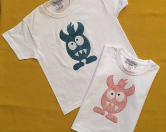 Cotton t-shirt, applique t-shirt, gift for boy, gift for girl, birthday gift,