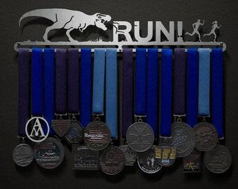 T-Rex : RUN! - Allied Medal Hanger Holder Display Rack