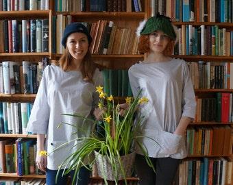 Women's artist style tunic