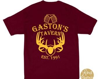 Beauty and the Beast Gaston's Tavern Shirt  - Magical Shirt