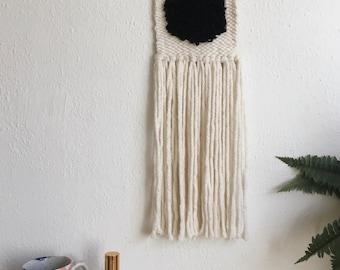 Minimal Hand Woven Wall Hanging