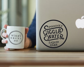 Giggle Water - Vinyl Decal | Harry Potter, Fantastic Beasts