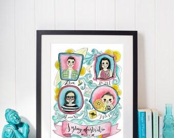 Custom Family Portraits