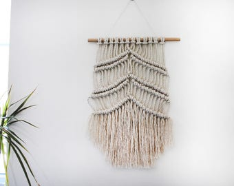 Macramé Knotted Wall Hanging