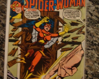 Spider Woman Issue 7 Marvel Comics 1978