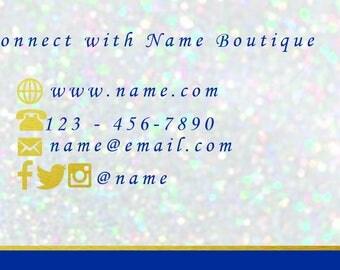 Premade Business Card Design