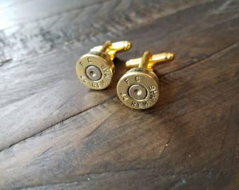 Handmade 44 Magnum Bullet Cuff Links Bullet Cufflinks 44 Magnum Cuff Links Men's Accessories