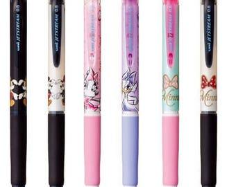 Set of 6 Uni Disney Jetstream 0.5 Ball Point Pens