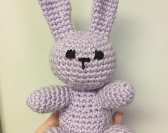 Crochet Bunny Toy, Plushie, Doll, Amigurumi