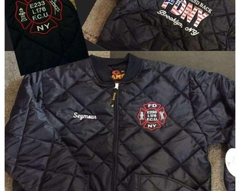 Customized Embrioridiered Jackets