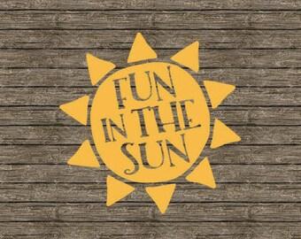 Fun in the Sun Sticker/Decal