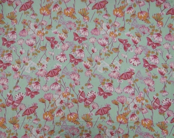 """Home Decor Cotton Fabric, Floral Print Fabric, Dress Fabric, Sewing Craft, Quilt Material, 43"""" Inch Designer Fabric By The Yard ZBC5979"""