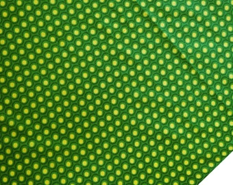 "Designer Fabric, Home Decor Cotton Fabric, Yellow Polka Dot Fabric, Dress Fabric, Sewing Craft, 43"" Inch Fabric By The Yard ZBC6916A"