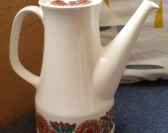 Figgjo Flint 'Astrid' pattern coffee pot