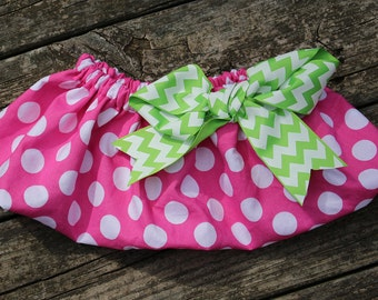 Pretty in pink! Pet Tutu, Mini Pig Clothes, Pig Clothes, Rabbit Clothes, Polka Dot, Pink, Lime Green