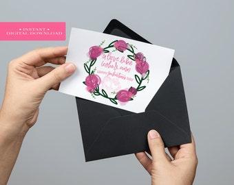 Galentine's Day Card Digital Download // A Love Like Leslie & Ann. Galnetine's Friend Card. Galentine's Parks and Rec. Galentine's Printable