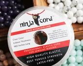 Elastic Cord, Jewelry Making Cord, Clear Cord, Stretch Cord, 0.8mm Elastic, Latex Free, Ninja Cord, Beading Cord, Jewelry Cord, Strong Cord,
