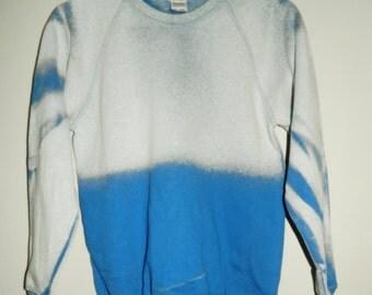 Tie Dye sweatshirt acid wash sweater grunge hipster Retro jumper vintage ombre dip dye Indie Galaxy rave festival men women unisex top