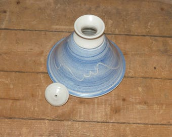 Vintage Hand Thrown Oil Burner  -  1216