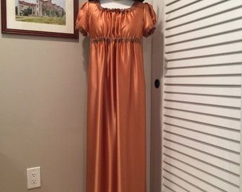 Jane Austen Regency Gown by Iblamejanetoo - U.S. size 8-10